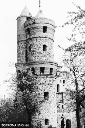 A Taródi-vár 1967-ben