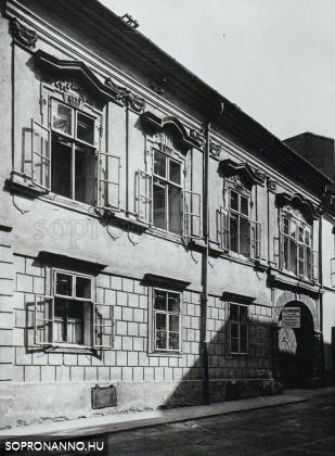 A Templom utca 17-es számú ház
