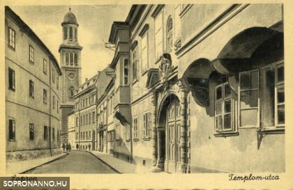 A Templom utca