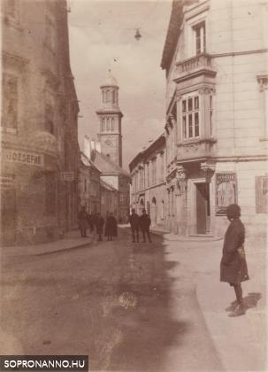 A Templom utca a háború előtt
