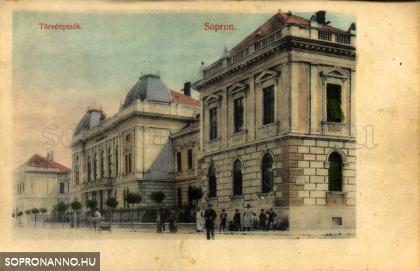 Az egykori Törvényszék épülete