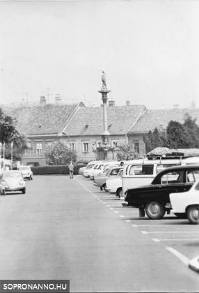 A Várkerület páros oldalának egy részlete 1970 körül