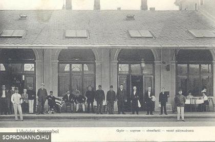 Az egykori vasúti vendéglő