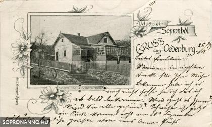 A Svájci-ház az 1800-as évek végén