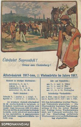 Állatvásárok 1917-ben