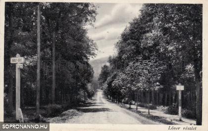 A Lőver körút és a Várisi út találkozása egykor