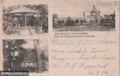 Az 1904-es Ipar- és Képzőművészeti kiállítás