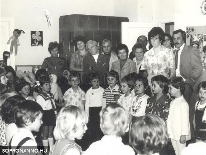 Középső csoportosok 1978-ban