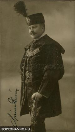 dr. vitéz Simon Elemér (1875-1954)