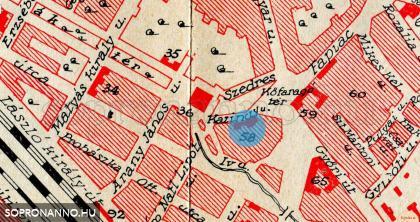 Térképrészlet 1935-ből