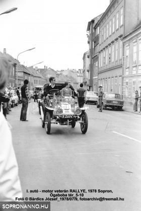 Az első soproni Oldtimer Rally