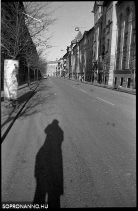 Az Erzsébet utca 1976-ban