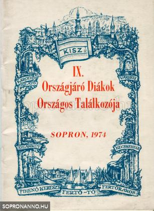 Az ODOT résztevőinek kiadott tájékoztató füzet