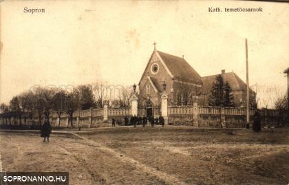 Az új katolikus temetőcsarnok