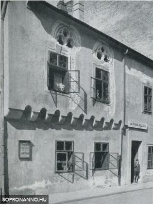 Az Új utca 16. számú ház