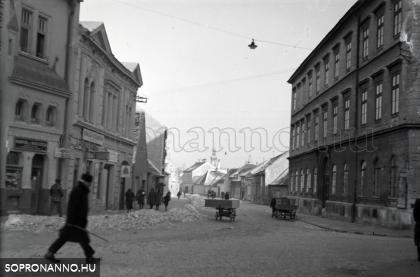 Az Újteleki utca 1941-ben