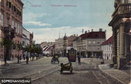 A Várkerület az 1900-as évek elején