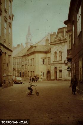 A Szent György utca