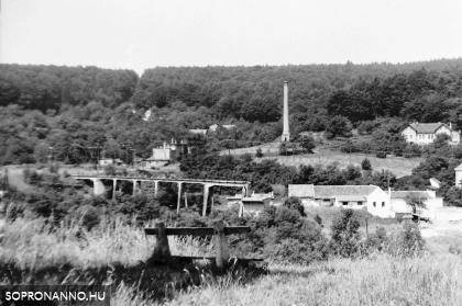 Brennbergbánya- 1979. Látkép II.