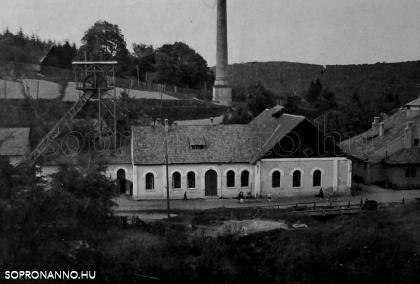 Brennbergbánya az 1930-as években