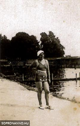 A Nagyuszodában 1932-ben