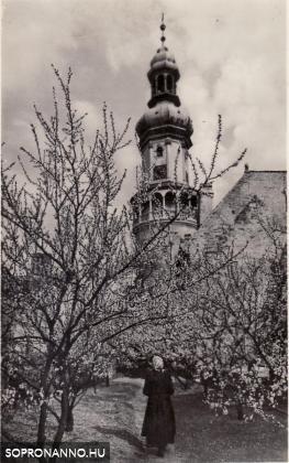 Diebold Károly fotója a Tűztoronyról