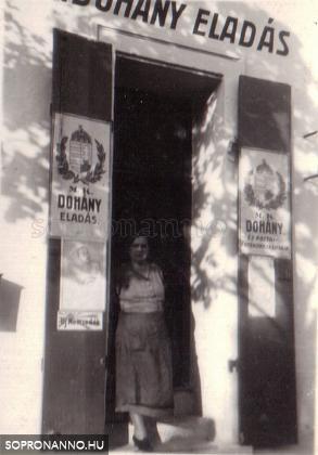 Dohánybolt Sopronban