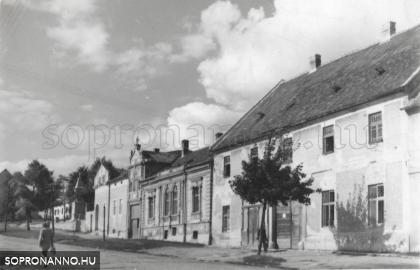 Életkép a Bécsi úton 1959-ben