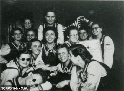 Az 1941-ben érettségizett osztály