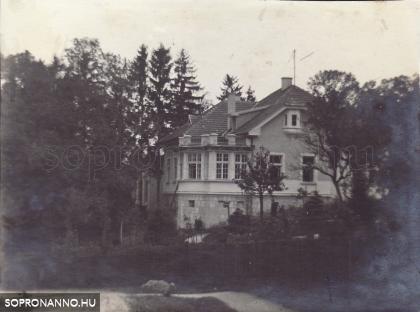 Az egykori Gebhardt-villa