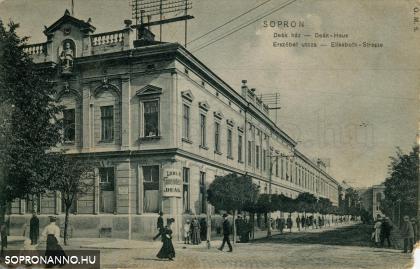 """""""Deák-ház - Erzsébet utcza"""""""