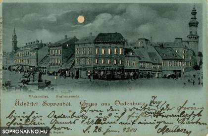 Esti üdvözlet Sopronból