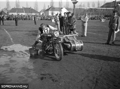 Filius-emlékverseny Sopronban 1935-ben