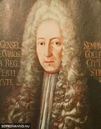 Gensel János Ádám (1677-1720)