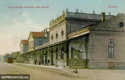 """""""Győr-Sopron-Ebenfurti vasúti állomás"""""""