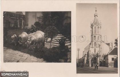 Harangszentelés a Szent Mihály-templomban 1930-ban