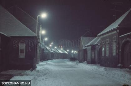 A hófödte Újteleki utca