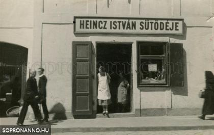 Heincz István sütödéje