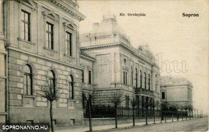 A Törvényszék épülete