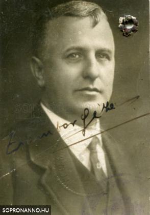 Zsombor Géza portréja
