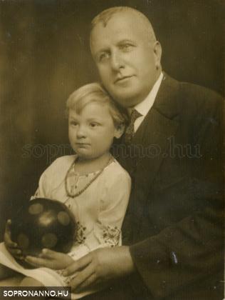 Zsombor Géza és unokahúga, G.Szabó Judit, írónő