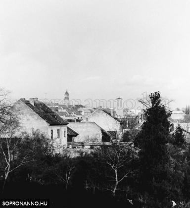 Kilátás a Gyóni Géza utcából