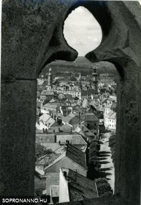 Kilátás a Szent Mihály-templomból