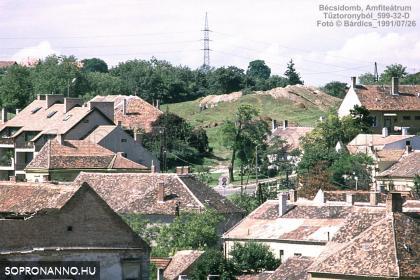 Kilátás a Tűztoronyból 1991-92-ben