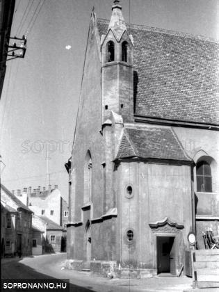 A Szentlélek-templom és a Szentlélek utca