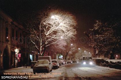 Kisvárkerületi tél