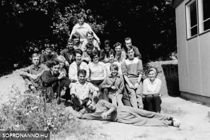 KISZ-tábor 1968-ban