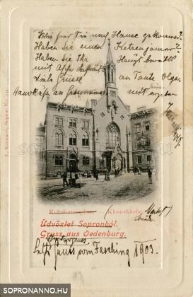Kolostortemplom az Orsolya téren