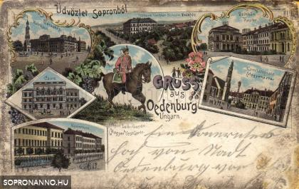 Korabeli mozaiklap Sopronból