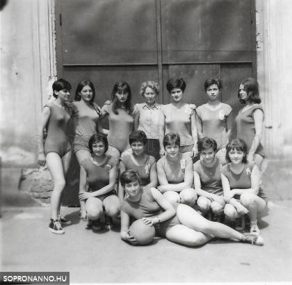 Kosárlabdázók 1965-ben
